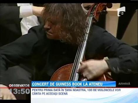 Record la Ateneul Roman: 100 de violoncele vor canta pe aceeasi scena!