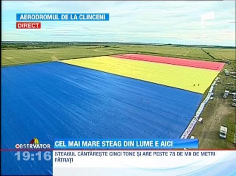 UPDATE / Romania are cel mai mare steag din lume