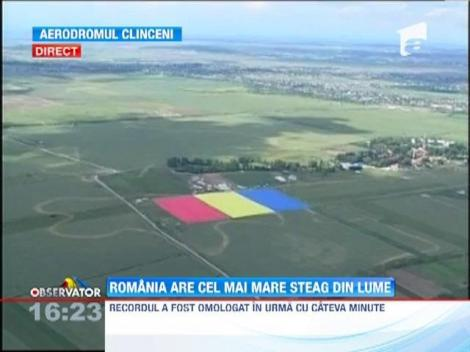 Romania are cel mai mare steag din lume