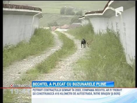 Contractul cu Bechtel, cel mai pagubos contract din istoria Romaniei: 1,5 miliarde de euro pentru 52 de km de autostrada!