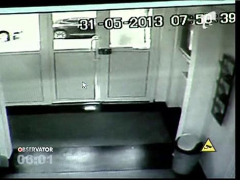 Filmul scandalului in urma caruia fotbalistul Gabriel Tamas a fost dus la Politie