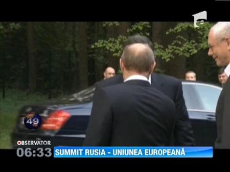 Summit intre Rusia si Uniunea Europeana, in orasul Ekaterinburg