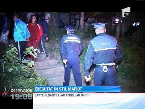 UPDATE! Barbatul executat in stil mafiot in Pitesti, victima unui atac premeditat