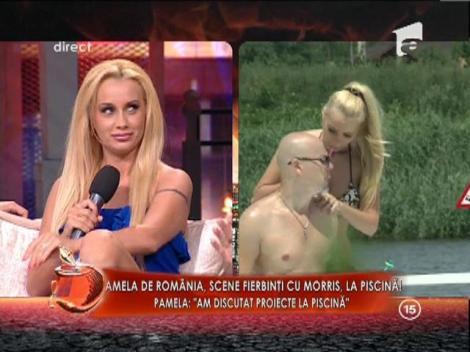 Pamela de Romania, scene fierbinti cu Morris, la piscina!
