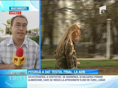 Victor Piturca a facut testul de paternitate la IML