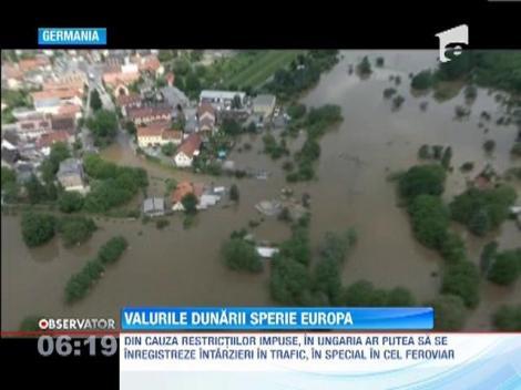 Valurile Dunarii sperie Europa