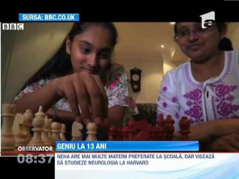 Neha Ramu, 13 ani... Coeficient de inteligenta, 162!