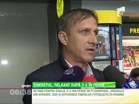 Emil Sandoi a rabufnit dupa 2-2 cu I-le Feroe!