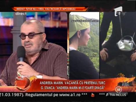 "George Stanca: ""Relatia Andreei Marin merge cu frana trasa"""