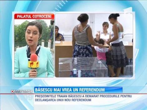 Basescu mai vrea un Referendum