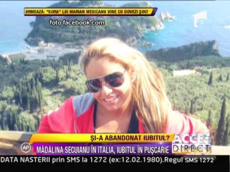 Madalina Secuianu se relaxeaza la plaja in Italia, desi are iubitul in puscarie