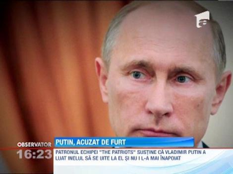 Putin, acuzat de furt
