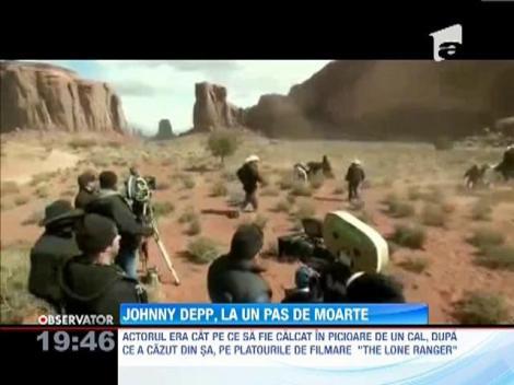 Johnny Depp a fost la un pas de moarte dupa o cascadorie nereusita