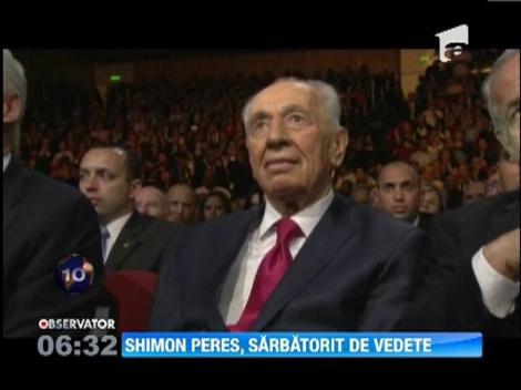 Simon Peres, sarbatorit de vedete