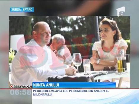 Viorel Catarama se casatoreste cu medicul estetician Adina Alberts