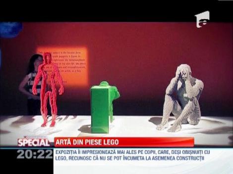 Arta din piese LEGO