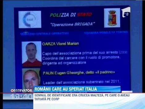 Politia din Torino a dezmembrat o retea de infractori romani si a arestat 17 dintre ei
