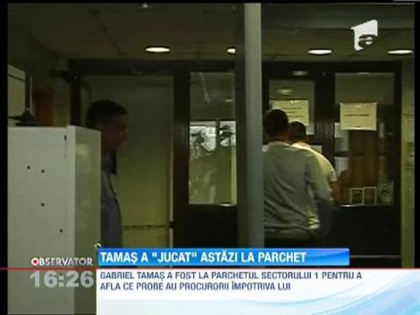 Gabriel Tamas a fost la parchetul sectorului 1 pentru a afla ce probe au procurorii impotriva lui