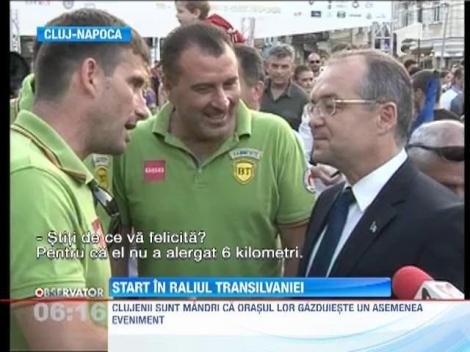 Emil Boc a dat startul in Raliului Transilvaniei