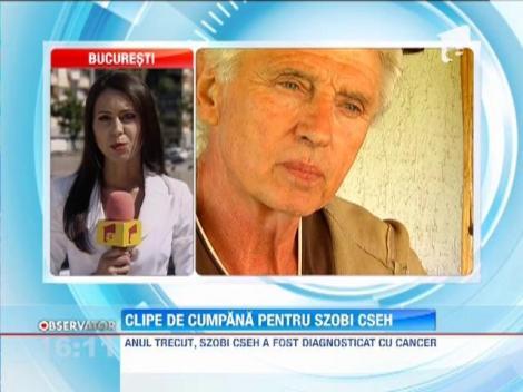 Update / Cascadorul Sobi Cseh a fost transferat la spital