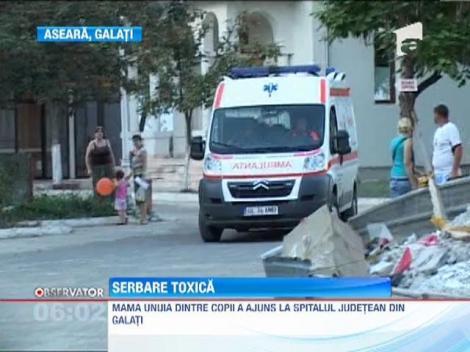 Cincisprezece copii de la o gradinita din Galati s-au intoxicat la serbarea de sfarsit de an