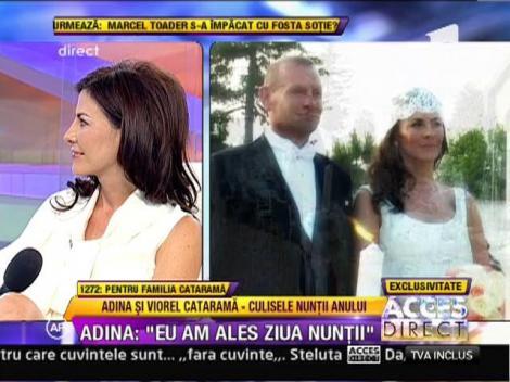 EXCLUSIV: Adina si Viorel Catarama si-au unit destinele! Imagini SUPERBE de la petrecere