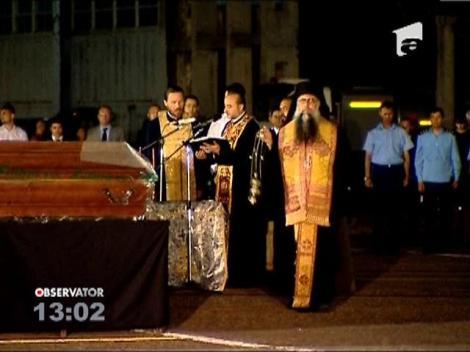 In memoria victimelor de la Muntenegru a fost organizata o ceremonie religioasa