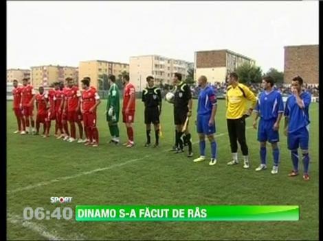 Dinamo a fost invinsa de nou-promovata Corona Brasov