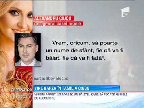 Alina Sorescu si Alexandru Ciucu asteapta primul copil