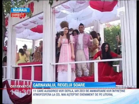 Cel mai asteptat eveniment de pe litoral este Carnavalul Mamaia 2013