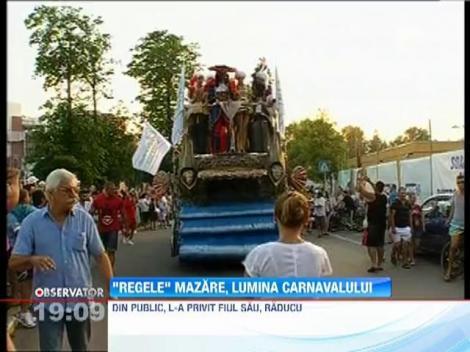 Radu Mazare, rege la carnavalul din Mamaia