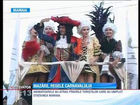 Sambadromul din Mamaia: Radu Mazare a dictat ritmul paradei!