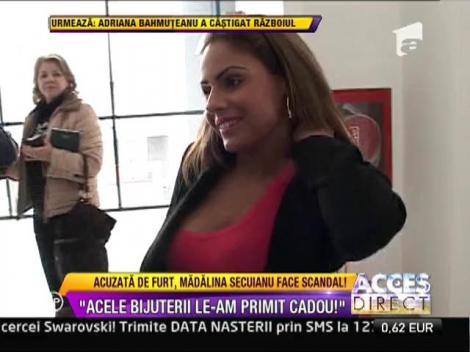 """Madalina Secuianu, dupa acuzele de furt: """"Bijuteriile le-am primit cadou!"""""""