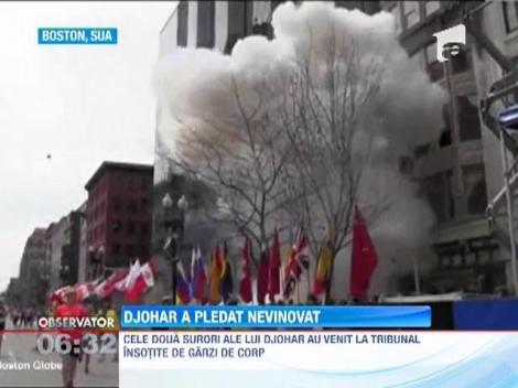 Djohar Tarnaev, atentatorul cu bomba de la maratonul din Boston, a pledat nevinovat
