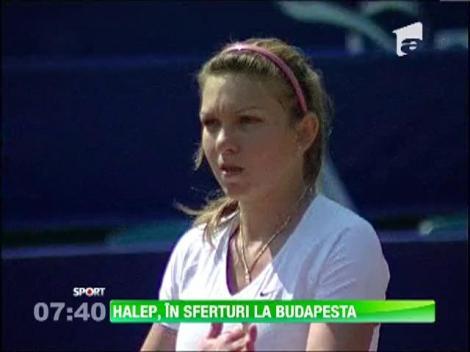 Simona Halep s-a califcat in sferturile de finala ale turneului de la Budapesta