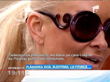 Victor Piturca ar putea ajunge la inchisoare! Vica Blochina i-a facut plangere penala pentru abandon familial