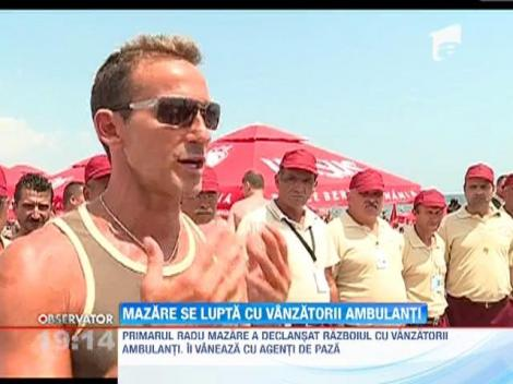 Vanzatorii ambulanti, interzisi pe plaja