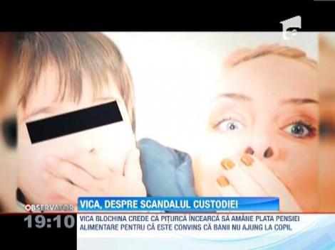 Vica Blochina risca sa-si piarda fiul! Victor Piturca vrea sa-l creasca pe baiat