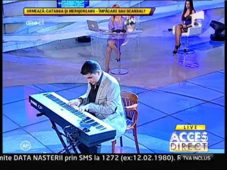 Alexandru Padureanu, cel mai tehnic pianist din tara