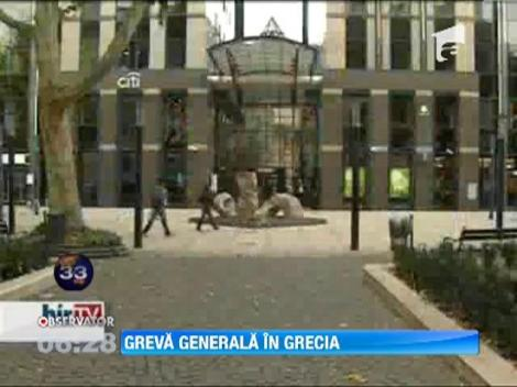 Greva generala in Grecia