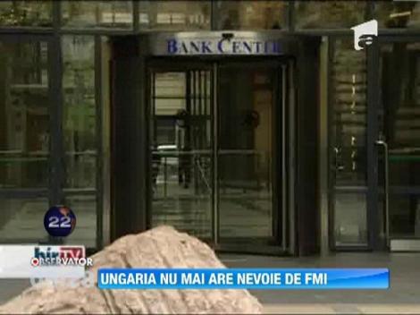Ungaria nu mai are nevoie de FMI