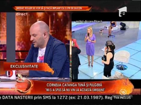 "Cornelia Catanga tuna si fulgera: ""Viata fara Elena Merisoreanu nu e viata"""