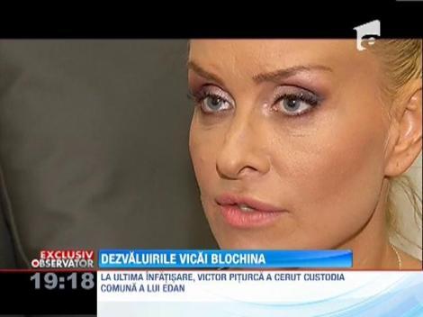 Vica Blochina, hotarata sa faca ORICE pentru copilul ei!