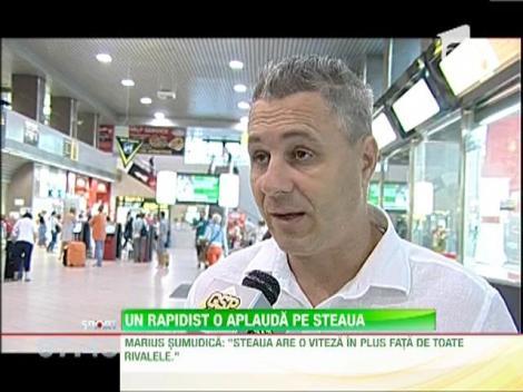 "Marius Sumudica: ""Steaua are o viteza in plus fata de toate rivalele"""
