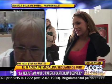 """Barbatul care o acuza pe Madalina Secuianu de furt: """"M-a lasat fara bijuterii in valoare de 20.000 de mii de euro"""""""