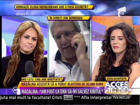 """Madalina Secuianu, catre cel care o acuza de furt: """"Hai la detectorul de minciuni"""""""