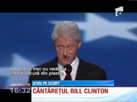 Bill Clinton este din nou in vizorul amatorilor de parodii