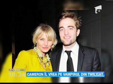 Cameron Diaz e innebunita dupa Robert Pattinson