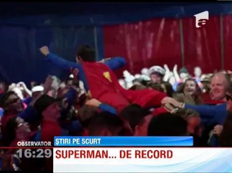 Superman a intrat in Cartea Recordurilor