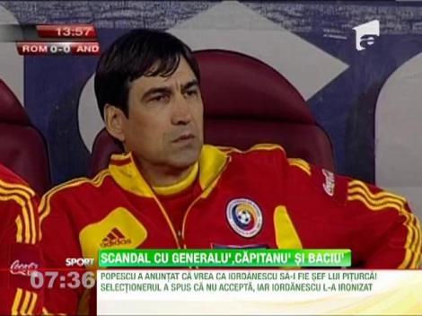 Scandal la echipa nationala! Victor Piturca nu il vrea sef pe Anghel Iordanescu!
